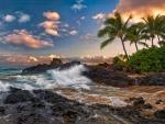Beautiful Beach in Maui - hdr
