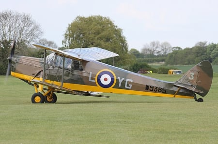 de Havilland DH-87B Hornet Moth - Prototype, DH-87B Hornet Moth, Trainer, de Havilland