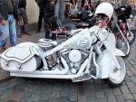 Harley-Davidson in white