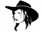 Sketch A Cowgirl