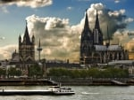 Cologne, Germany Cityscape