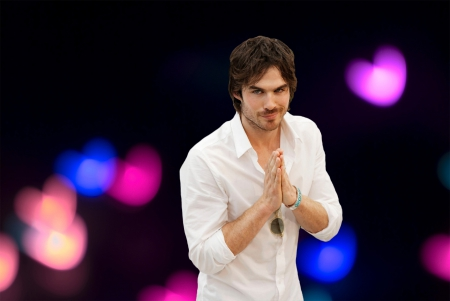 Ian♥ - Ian Somerhalder, hearts, actor, by carmencitazapacita