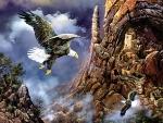 Cliff Dwelling Eagles F1