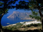 View of the Greek Islands