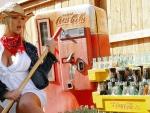 Coca Cola Cowgirl