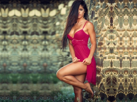 Michelle Lewin Models Female People Background