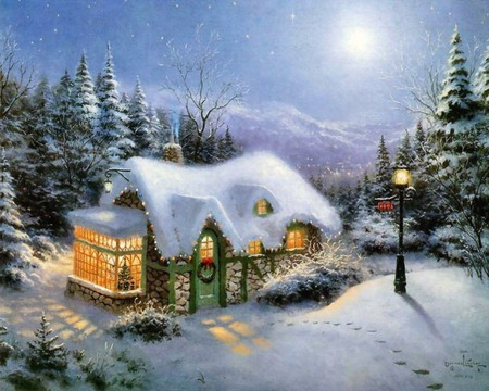 snow-day - christmas, snow, winter, cold