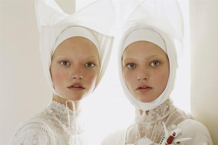Organized Robots 10 - gemma ward, vogue, sasha pivovarova, vogue italia, editorial, steven meisel, fashion