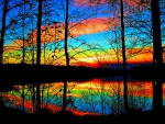 Colorful Sky Reflection