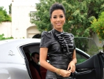 Eva Longoria and her new Maserati