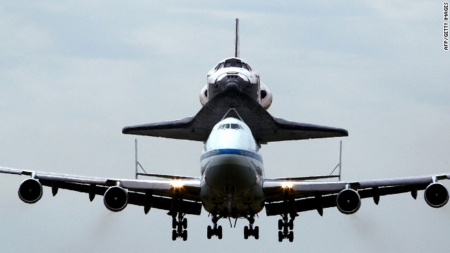 Space Shuttle Discovery - Boeing 747 Shuttle Carrier - Space, Space shuttle Discovery, Shuttle Carrier, Boeing 747