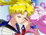 Sailor Moon & Sailor Chibi Moon
