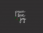 peace ♥ love ♥ joy