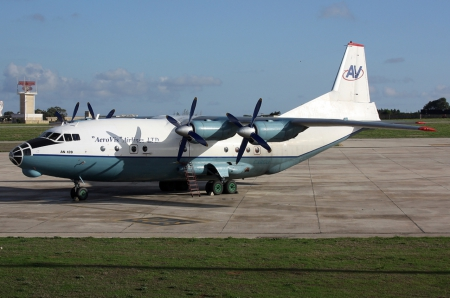 Antonov An-12BP - Antonov, NATO reporting name  Cub, transport aircraft, An-12BP