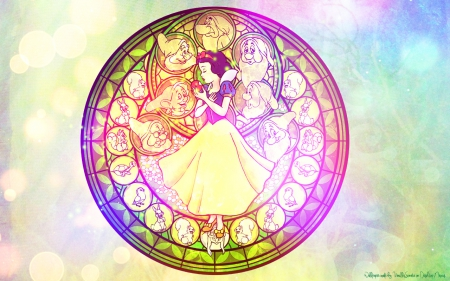 Snow White Wallpaper - animated, disney princess, snow white, walt disney, heroine, video game, kingdom hearts, cartoon, wallpaper, disney