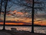 Gorgeous Sunset on the Lake
