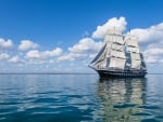 Sailing Ship on the Water