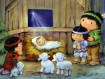 Native American Nativity F1