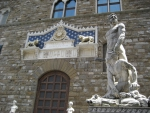 Hercules and Cacus by Baccio Bandinelli in Florence Italy