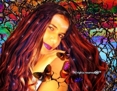 Wild Fury - her, life, freedom, butterflies, memories, directions, thorns, love, beauty, wounds