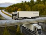 Truck Scania - highway