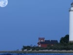 Lighthouse by Monlight