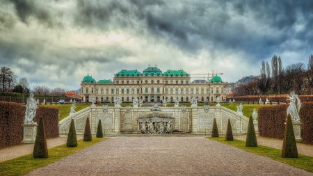 Belvedere Palace in Austria - architecture, palaces, Austria, palace