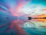 Amazing Ocean Sunset
