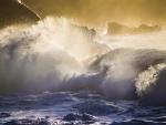 Oahu Splash at Sunset