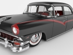 Slammed 1956 Ford Fairlane