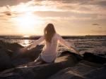 girl-sunset
