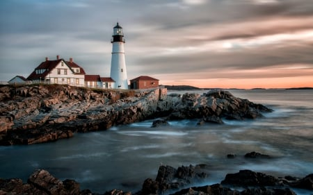 Lighthouse at Portland, Maine