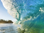 surf's up on a Florida wave