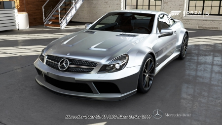 Mercedes-Benz SL 65 AMG Black Series '2009 - Mercedes-Benz, Xbox, Forza, Xbox One, Black Series, R230, 5, Motorsport 5, Horizon, One, 2009, Forza Horizon, 360, 2, 09, Motorsport 4, Motorsport, 4, SL 65, Xbox 360, AMG