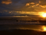 golden sunsets
