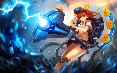 Big Cannon Other Anime Background Wallpapers On Desktop Nexus