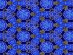 Blue fractal wallpaper