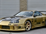 Toyota Supra twin turbo turner car