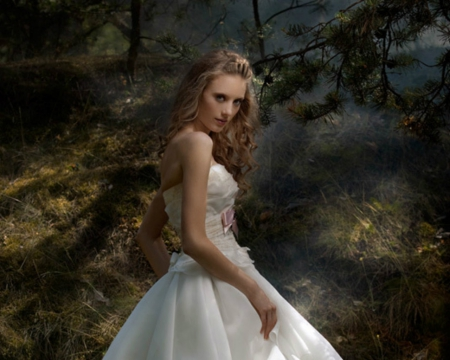 Beautiful Girl - Enchanted Forest Wallpapers and Images ... - photo#19