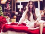 Beautiful Christmas Girl