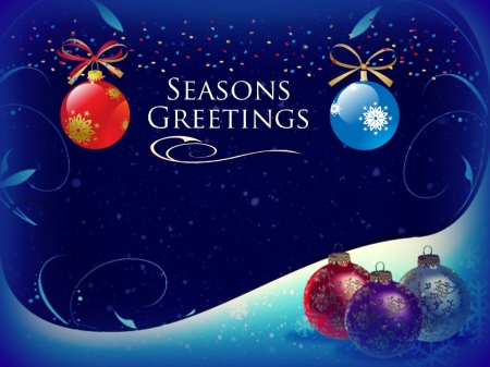 Seasons Greetings - yuletide, seasons greetings, xmas, noel