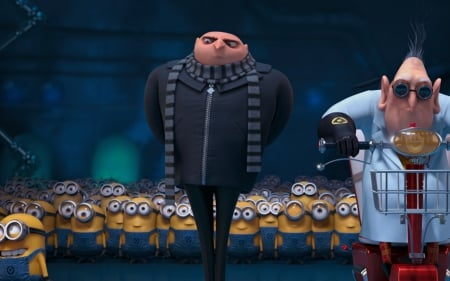 despicable-me - minions, animation, entertainment, movies, guru, despicable me