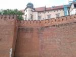 castle wall krakow