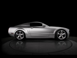 45th Anniversary Ford Mustang (Iacocca Silver) Side