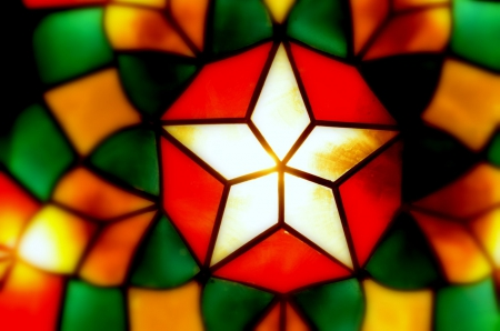 a traditional philippines christmas lantern