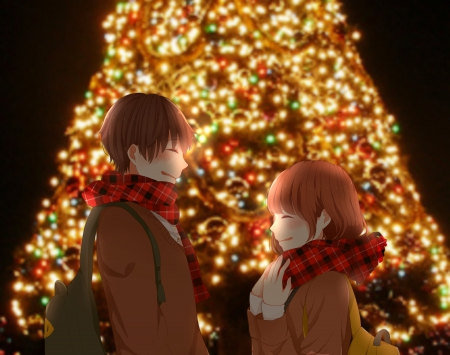 Christmas Date Anime Love And Romance Wallpapers And Images