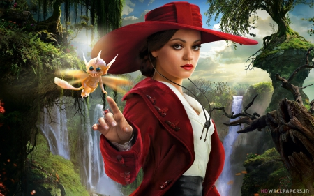 mila kunis in oz the great and powerful - kunis, powerdul, oz, mila, great