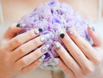 Nail Art and Flowers