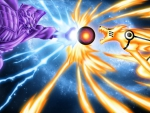 Susanoo Chidori Vs Tailed Beast Ball
