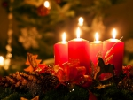 ☆  Christmas Candles, 4th Advent ☆